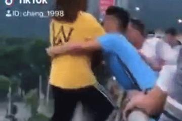 9X Lào Cai được khen ngợi sau clip cứu người nhảy cầu