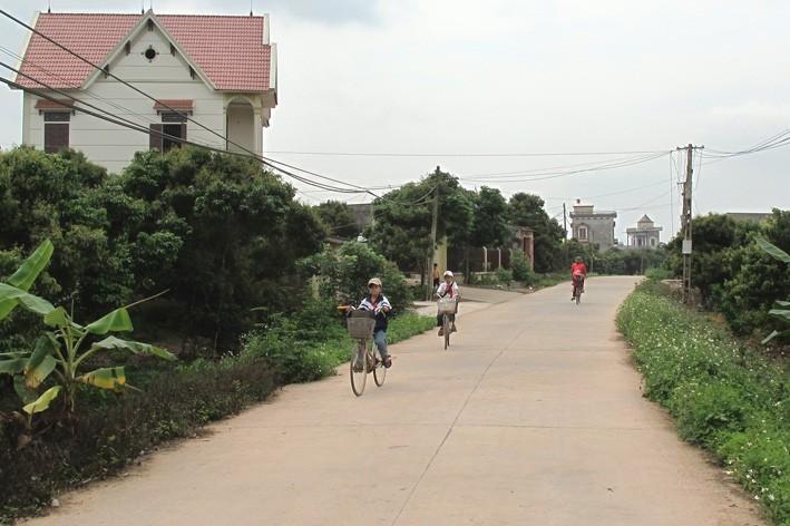 Huyện Tân Yên (Bắc Giang) về đích NTM