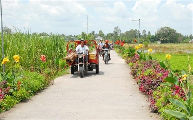 Công nhận 2 huyện đạt chuẩn nông thôn mới ở Hải Dương và Đồng Tháp