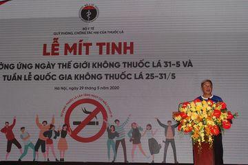 Thứ trưởng Bộ Y tế: Nguy cơ tiềm tàng từ thuốc lá điện tử