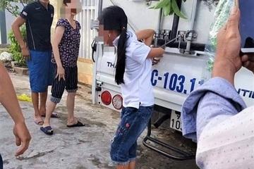 """Người mẹ trói con gái vào xe tải: """"Tôi bức xúc vì nhà nhiều lần mất trộm tiền"""""""
