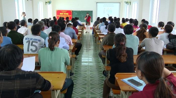 Nâng cao năng lực cho cán bộ cơ sở thuộc Chương trình 135 ở Thanh Hoá