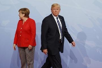 Nord Stream-2 và Covid-19 'chia rẽ' ông Trump và bà Merkel