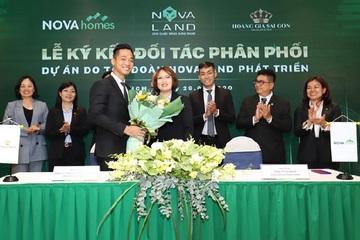 Novaland ký kết với các đại lý phân phối, thúc đẩy thị trường tăng nhiệt