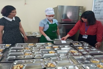 Bắc Ninh: Giám sát an toàn thực phẩm tại ba trường học ở Từ Sơn