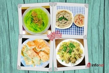 Thực đơn 4 món ngon mùa hè cho bữa cơm gia đình tròn vị