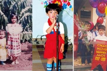 Hồ Ngọc Hà, H'Hen Niê và dàn sao Việt khoe ảnh hồi nhỏ nhân ngày 1/6