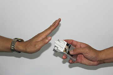 Bệnh nhề nhề vì thuốc lá