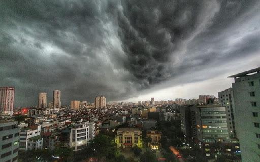 Bắc Bộ, Thanh Hóa và Nghệ An mưa dông, đề phòng mưa rất to