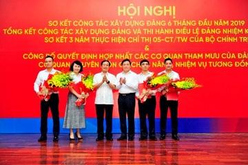 VietinBank hợp nhất cơ quan tham mưu giúp việc của Đảng ủy với chuyên môn