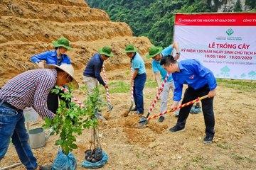 """Agribank Chi nhánh Sở giao dịch hưởng ứng phong trào """"Một triệu cây xanh - Thêm cây, thêm sự sống"""""""