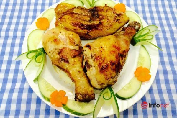 ăn gì hôm nay thịt gà chiên