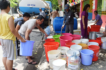 Đà Nẵng: Dự trữ nước tại các hộ gia đình để ứng phó hạn hán, xâm nhập mặn