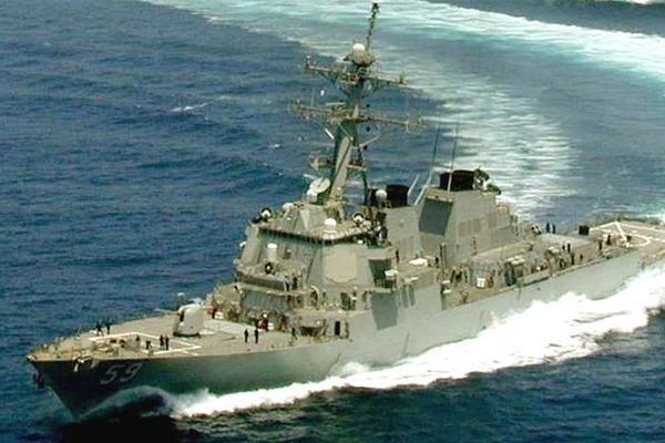 Trung Quốc tập trận khác thường, Mỹ điều chiến hạm qua eo biển Đài Loan