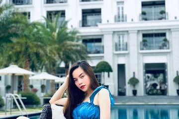 Gu thời trang sang chảnh của những bà bầu showbiz Việt mang thai đôi