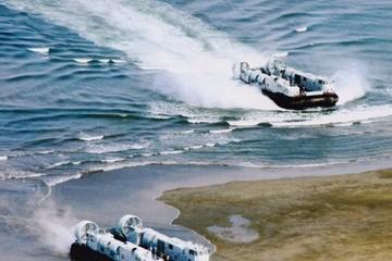 Quân đội Trung Quốc rầm rộ diễn tập đổ bộ đánh chiếm đảo