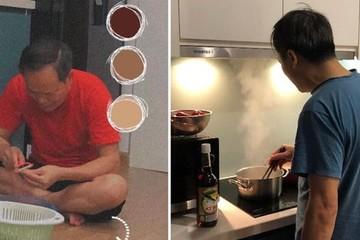 Cô gái 9X khoe ông bố 'quốc dân' với những bữa cơm ngon nấu bằng tâm huyết