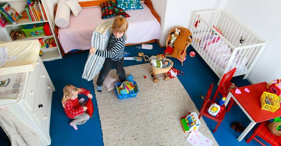 5 bài học quý với bé khi tự dọn phòng gọn gàng ngăn nắp