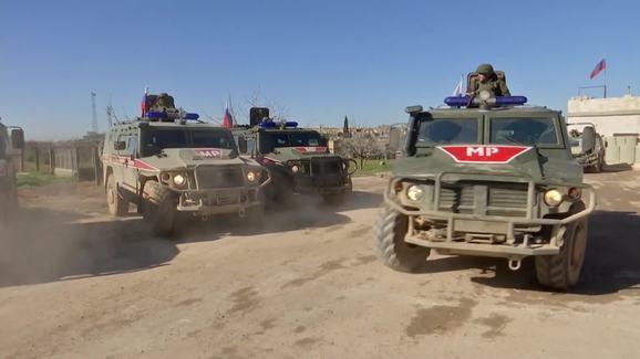 Tình hình Syria: Quân đội Nga bị tấn công gần biên giới Thổ Nhĩ Kỳ