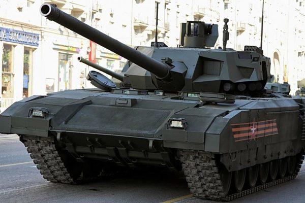 Tình hình Syria: Chuyên gia Trung Quốc khen Nga thử siêu tăng T-14 ở Syria