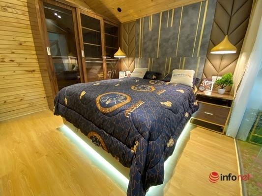 Giật mình biệt thự mini di động giá nửa tỷ xịn sò, sang chảnh như khách sạn 5 sao