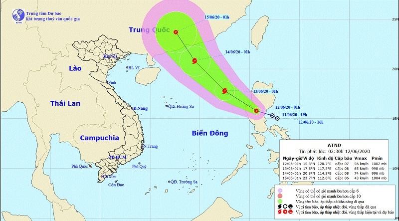 Áp thấp nhiệt đới gần Biển Đông, khả năng mạnh lên thành bão