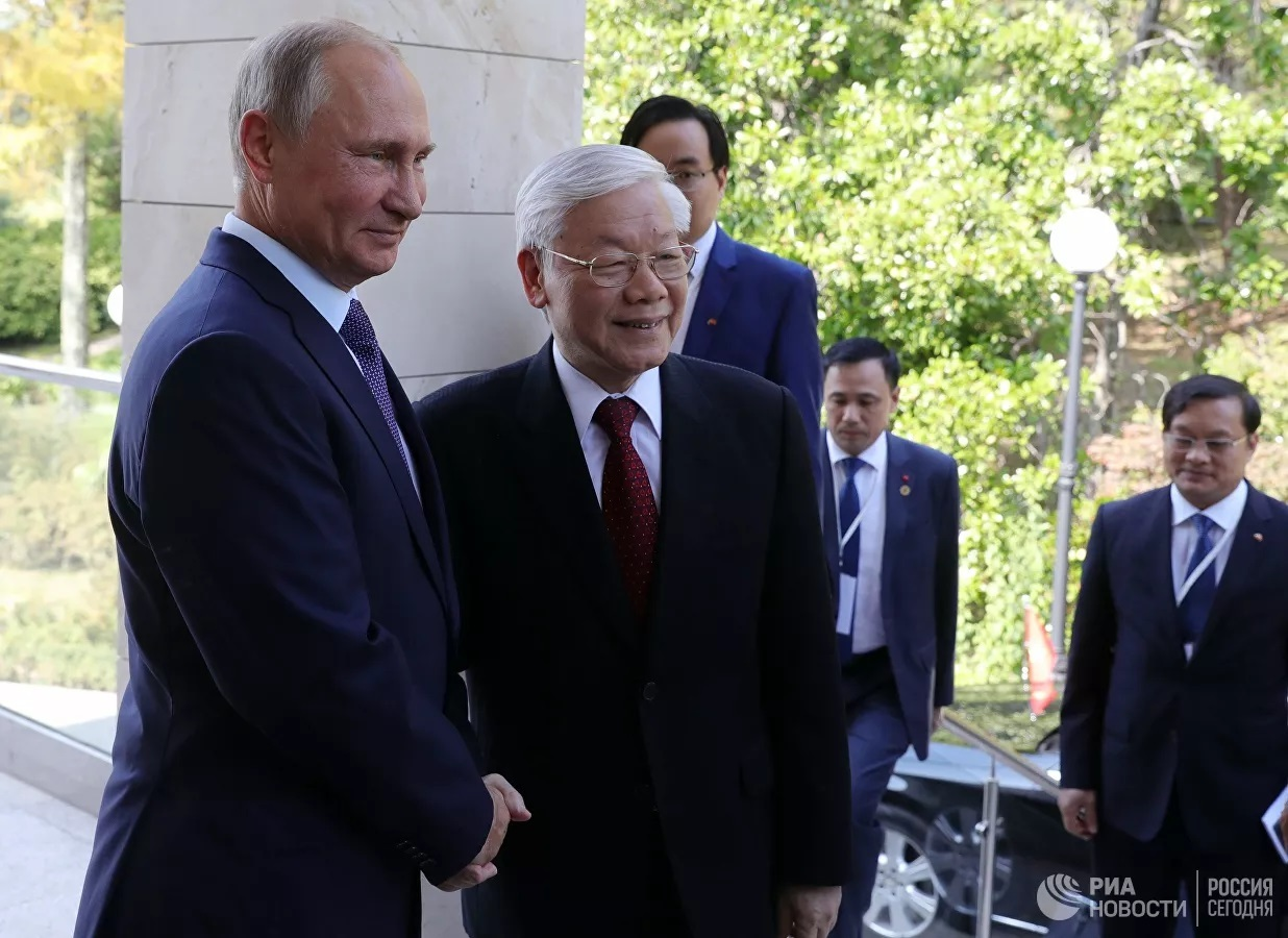 Tổng thống Nga Vladimir Putin nhận lời mời thăm chính thức Việt Nam