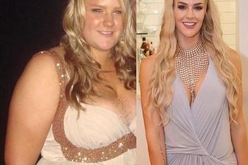 Giảm 90kg, cô gái lột xác đẹp như siêu mẫu