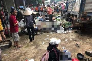 Đắk Nông: Tai nạn liên hoàn ở chợ lúc sáng sớm 5 người tử vong, 5 người đang cấp cứu