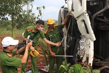 Đã rõ danh tính, kết quả kiểm tra nồng độ cồn và ma túy 4 tài xế trong vụ tai nạn 10 người thương vong ở Đắk Nông