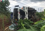 Tạm giữ tài xế xe tải lao vào chợ ở Đắk Nông