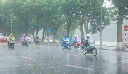 Thời tiết ngày 15/6: Mưa lớn ở Bắc Bộ và Bắc Trung Bộ, nắng nóng ở Nam Trung Bộ