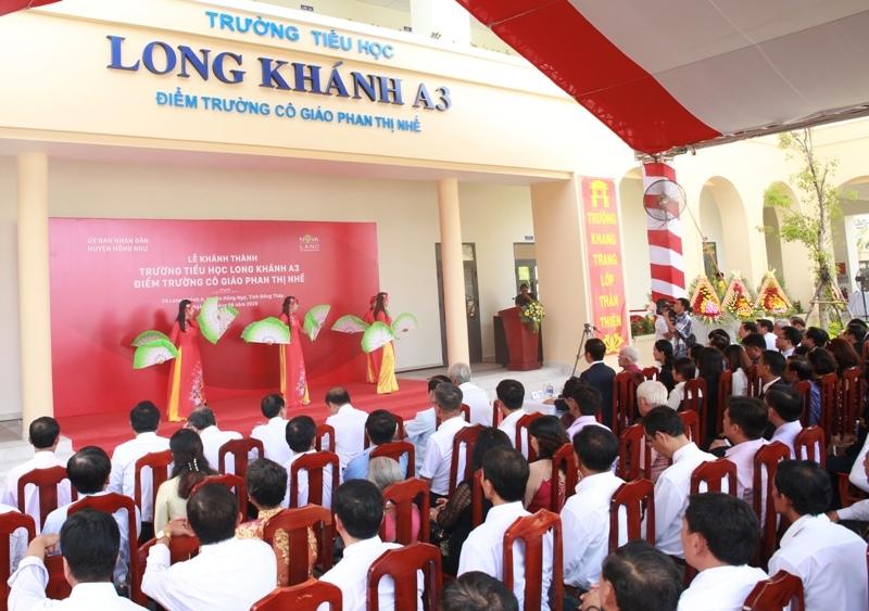 Trường tiểu học Long Khánh A3: Trọn niềm vui ngày khánh thành