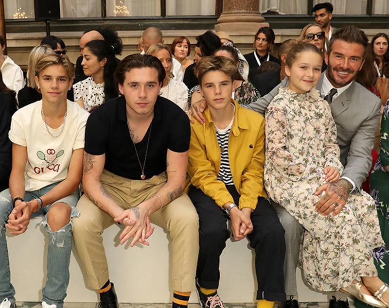 Vợ chồng David Beckham không chỉ giàu sụ mà còn nổi tiếng với cách nuôi dạy 4 con
