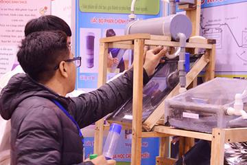 140 dự án tham gia cuộc thi KH-KT cấp quốc gia dành cho học sinh trung học