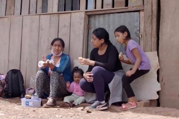 Hành trình chạy trốn Covid-19 đầy khó nhọc của người phụ nữ Peru