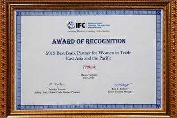 TPBank được IFC vinh danh về hỗ trợ doanh nghiệp do phụ nữ làm chủ