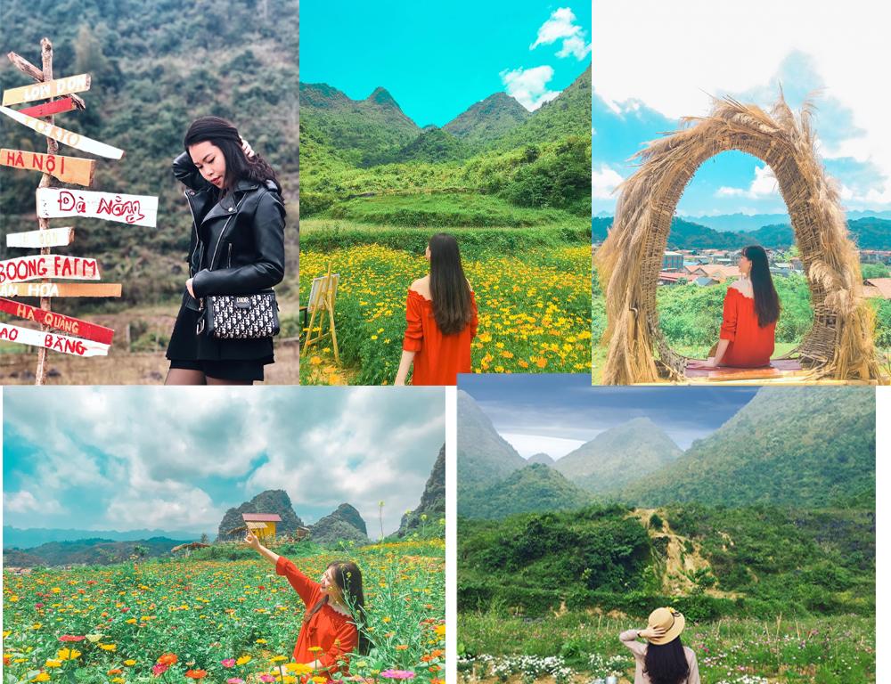 Nhóm 3 bạn trẻ Cao Bằng bỏ việc về quê làm nông trại du lịch 7.000m2