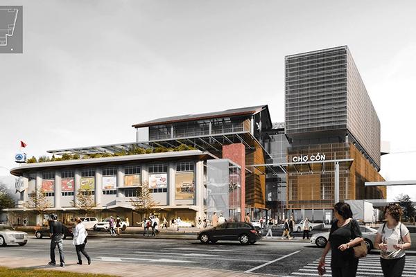 Đà Nẵng: Không có giải Nhất cuộc thi quy hoạch, kiến trúc Chợ Cồn