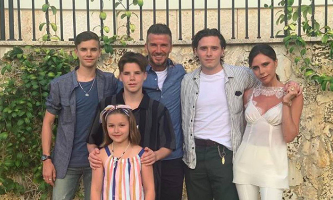 12 câu nói ấn tượng về việc dạy con ngoan của David Beckham