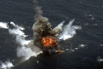 Tên lửa mới của Iran hủy diệt mục tiêu trên biển