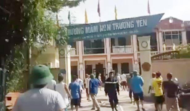 Hà Nội: Chập điện, cháy lớn ở trường mầm non