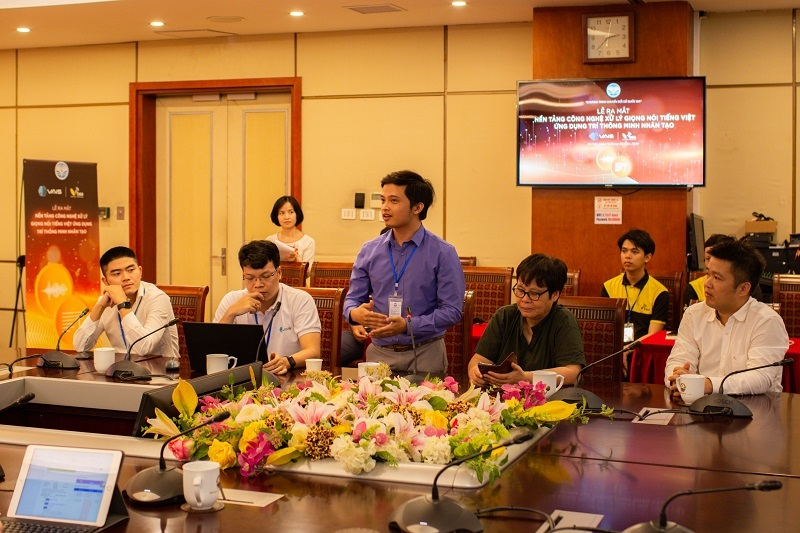 Doanh nghiệp Việt ra mắt nền tảng công nghệ xử lý giọng nói VAIS và VBEE