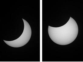 Hình ảnh đầu tiên về nhật thực hình khuyên hiếm gặp ở Hà Nội, Đà Nẵng, Hưng Yên
