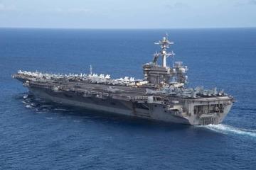 Ba nhóm tàu sân bay Mỹ cùng xuất hiện ở cửa ngõ Biển Đông
