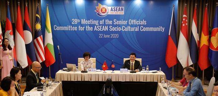 Hội nghị trực tuyến Quan chức Cấp cao phụ trách Cộng đồng Văn hóa-Xã hội ASEAN