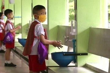 Buổi đào tạo đặc biệt trước ngày Thái Lan đồng loạt mở lại trường học