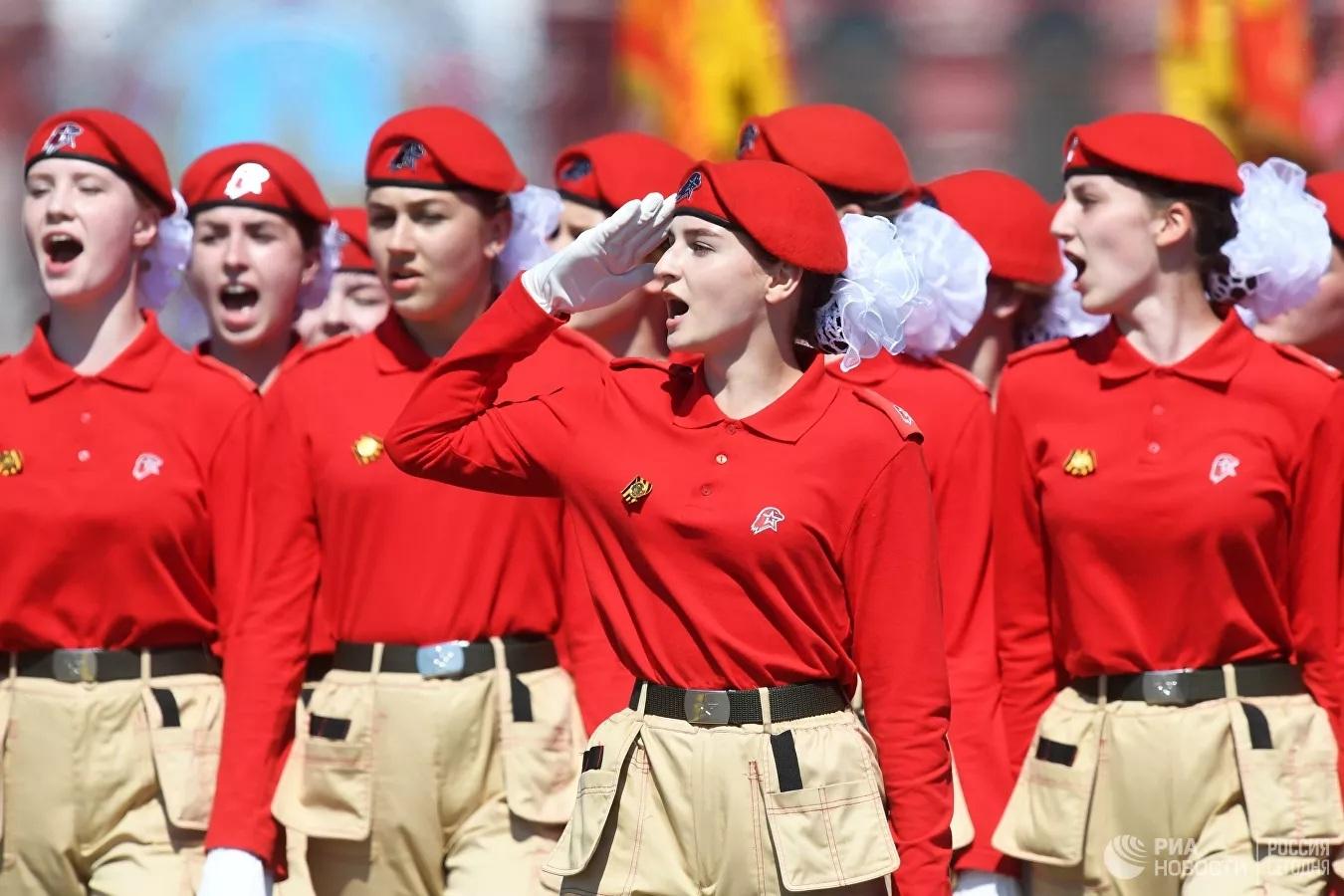 Những hình ảnh đặc sắc nhất về Lễ duyệt binh kỷ niệm 75 năm Ngày Chiến thắng