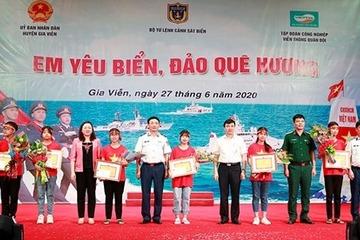 """Ninh Bình: Đã tìm ra quán quân cuộc thi """"Em yêu biển đảo quê hương"""""""
