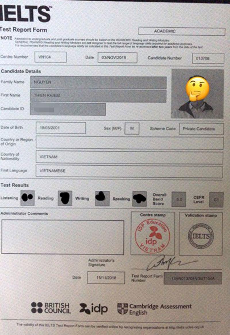 Nam sinh điển trai sở hữu profile chuẩn 'con nhà người ta': IELTS 8.0, đạt nhiều giải HSG quốc gia